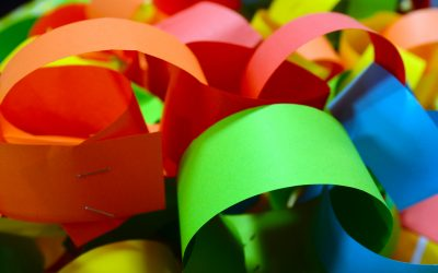Play Therapy: Paper Chain Mood Rings